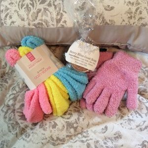 Cozy slipper socks and Soap on a Rope Bundle